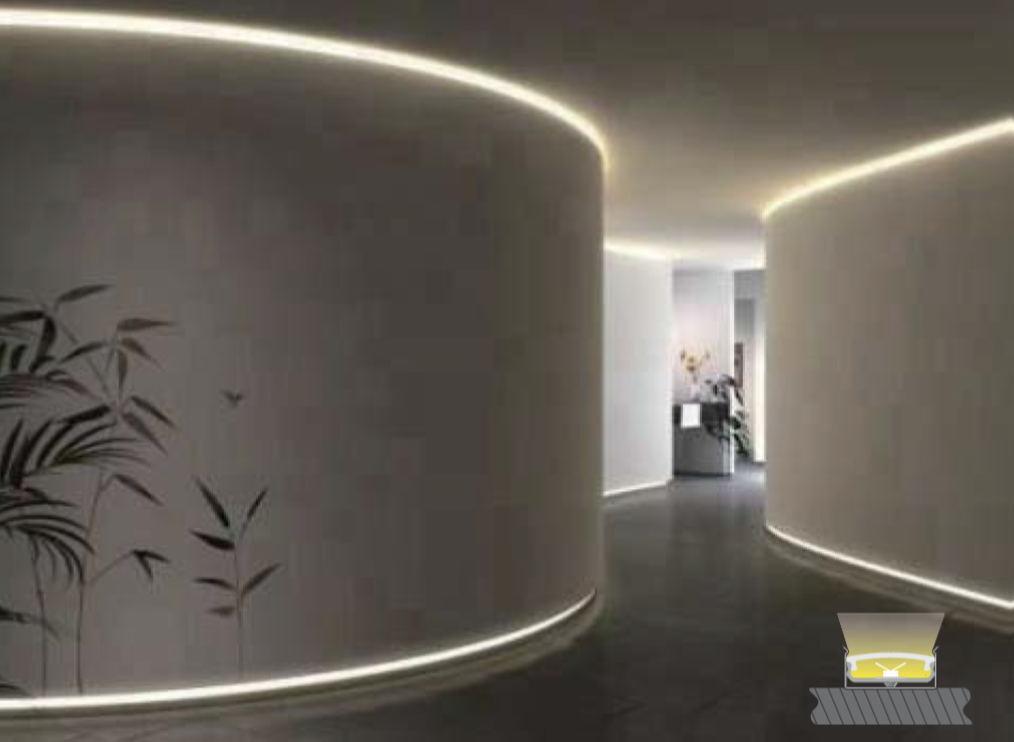 Architectural Linear Extrusions Sharp Source Lighting